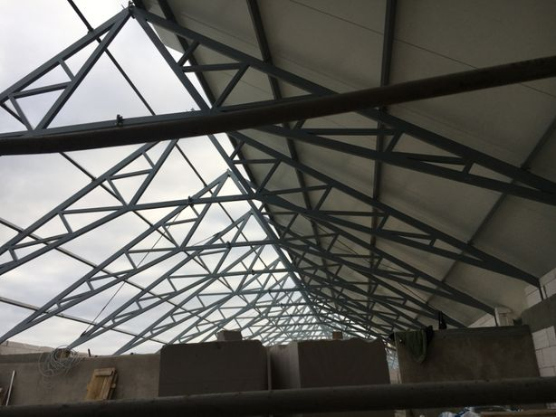 Hala, kratownice, konstrukcje stalowe, dachowe, wiata, magazyn, garaż