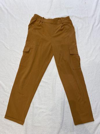 Szersze spodnie