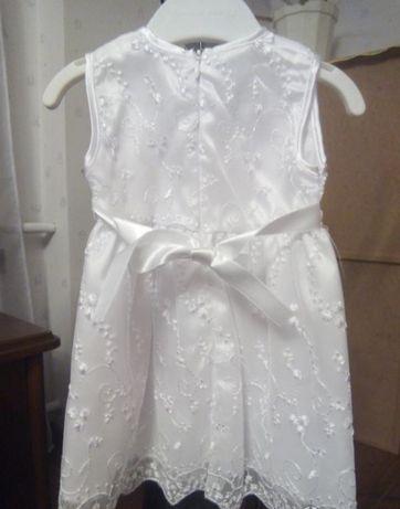 платье для крещения Cicisi праздничное 3-12 мес для малышки