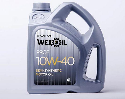 Моторное масло WEXOIL PROFI 10W-40 - 4 л.