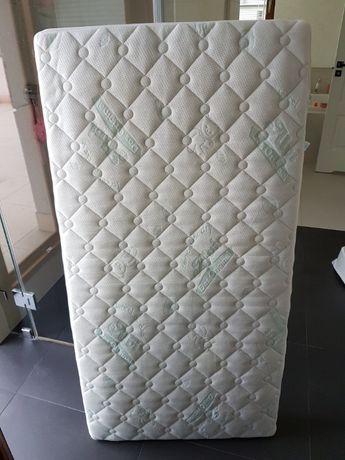 Materac niemieckiej firmy ALVI Tencel&Dry 140x70 do łóżeczka dziecięce