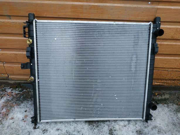 Радиатор МЛ Мерседес w163 ml