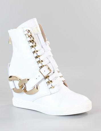 Sneakersy białe BOCCI oryginalne Skóra naturalna 35,36,37,38,39,40
