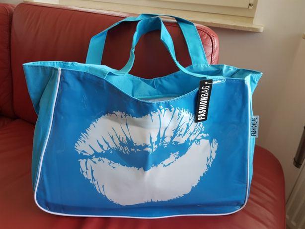 Duża torba plażowa Fashionbag NOWA