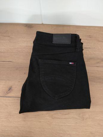 Tommy Hilfiger czarne spodnie damskie