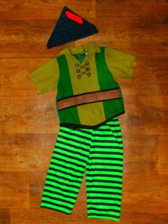 костюм 3-4 года питер пен Робин Гуд Disney карнавальный мальчику 104 р