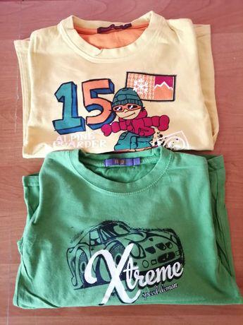 T-shirty chłopięce rozm. 116