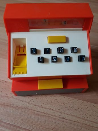 Kasa dla dzieci zabawka  Geobra Retro lata 70-80