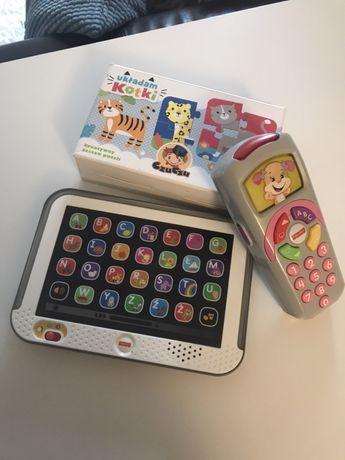 Zestaw Fisher-Price telefon, tablet