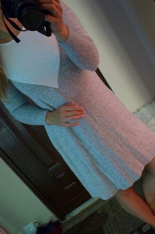 Sweterkowa sukienka 36