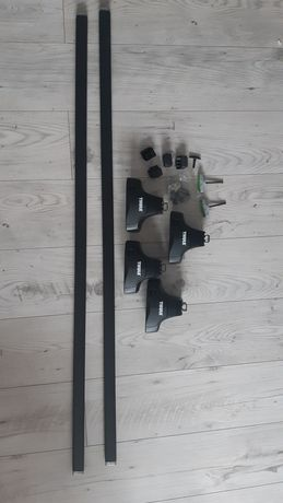 Nowy nie używany Bagażnik baza Thule Rapid System 754 SQUAREBAR KIT