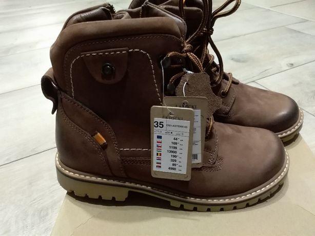 Buty dla dzieci rozmiar 35