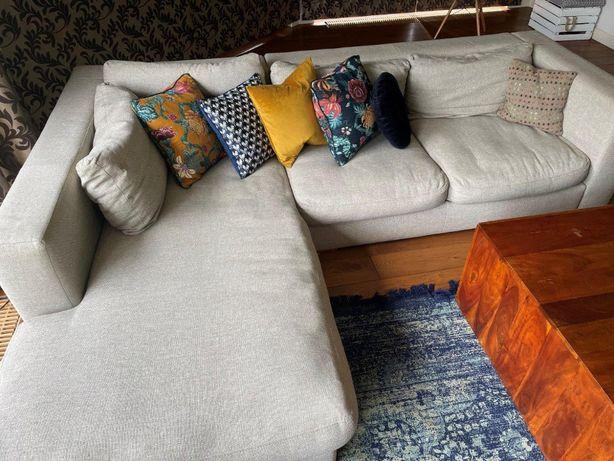 Sofa narożna do salonu