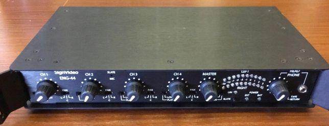 Przenośny mikser audio 4-kanały Sign Video ENG-44