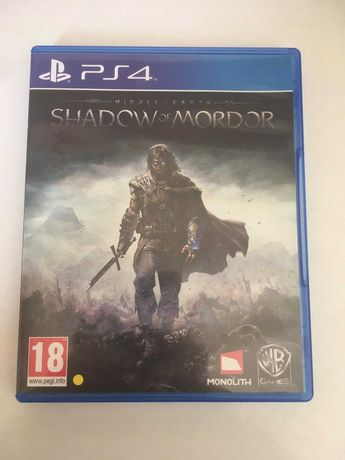 PS4 - Middle Earth: Shadow of Mordor