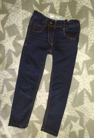 Скинни M&S 3-4 года джинсы skinny штаны брюки осень