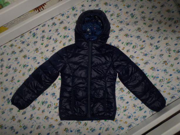 Как новая! Красивая курточка куртка на девочку 5-6л 110-116см