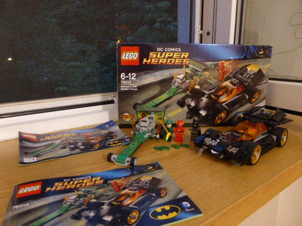 Lego 76012 Batman Pościg Człowieka Zagadki
