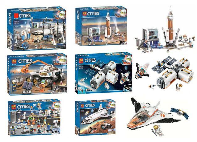 Ассортимент конструктора Bela CITY Космическая серия (Сити Лего LEGO)