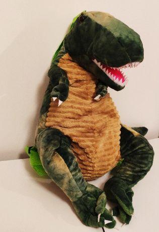 Рюкзак динозавр для детей и для взрослых. Зеленый T-Rex.