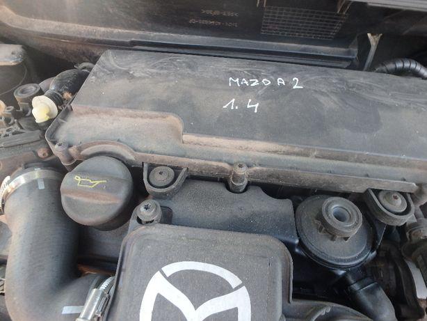 Silnik Mazda 2 1.4 Kompletny Gwarancja