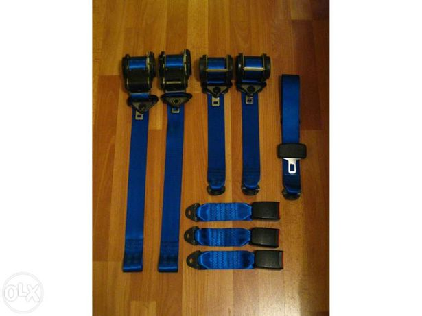 Cintos segurança azul peugeot 106/saxo cup gti xsi vts