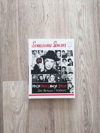Książka Moje muzy moje życie Sebasstian Skalski