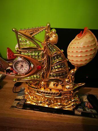 Statek lampka ,zegarek