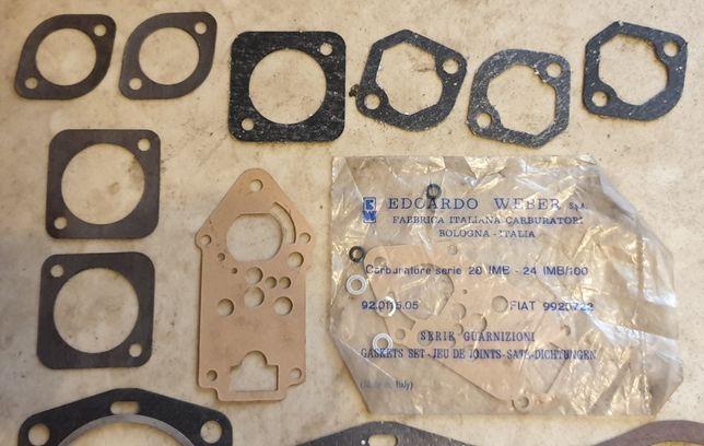 FIAT komplet oryginalnych uszczelek FIAT uszczelki