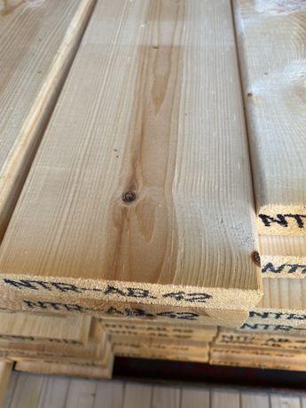 Deska tarasowa gładka nie impregnowana 28x120 mm.