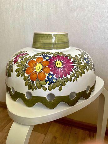 Итальянская люстра светильник бра керамика ручная работа роспись