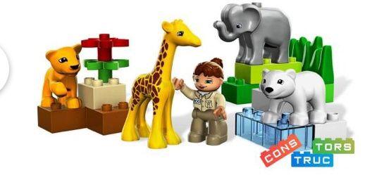 Lego Duplo Зоопарк для малышей . Оригинал