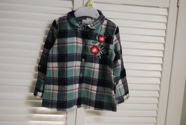 koszula jak nowa PRIMARK roz 86 cm 12-18 m-cy