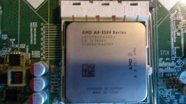 Процессор проц камень CPU AMD A8-5500 socket FM2 4 ядра.