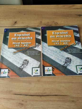 Podręcznik z ćwiczeniami do j.hiszpańskiego