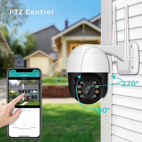 Уличная Наружная Wi Fi IP камера видеонаблюдения SmartHD 3МР или 5MP