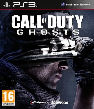 call of duty ghosts ps3 NOWA