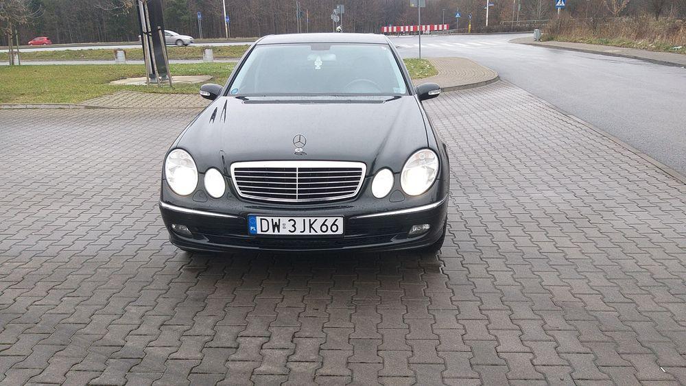 Mercedes Benz w211 Wrocław - image 1