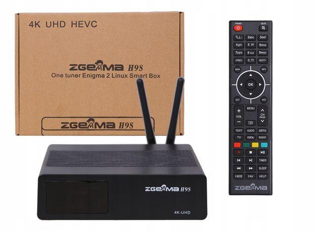ZGEMMA H9S se 4K UHD E2 FEDC Iptv GW 12m E2istream