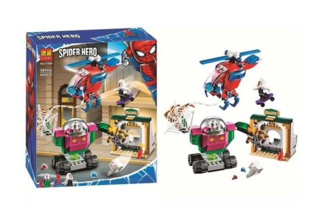 Конструктор «Спайдермен угроза Мистерио» Super Heroes Marvel 181