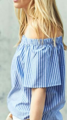 Топ фирма motivi блузка оригинал лето xs - s лето вышивка вишиванка