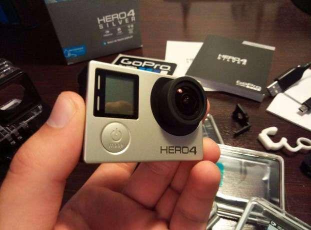 GoPro Hero 4 Silver Nova + acessórios