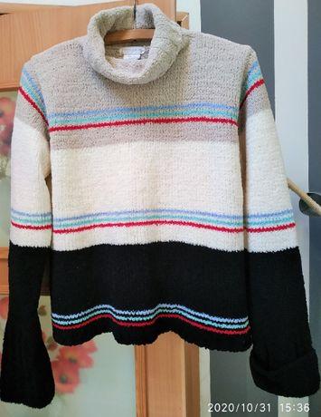 Sweter damski z golfem