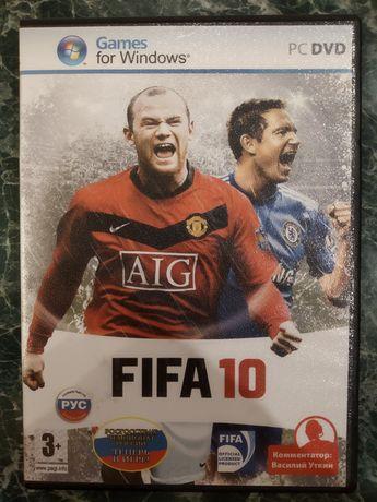 Продам комп'ютерну гру FIFA 10