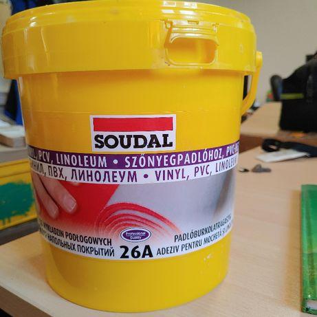 Klej do wykładzin PCV SOUDAL 26A 5kg