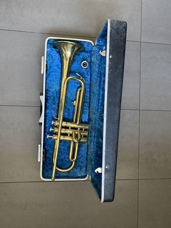 Trompete Antigo e respetiva caixa