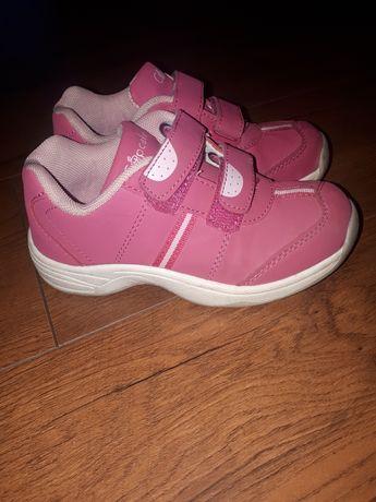 Adidaski różowe r.27 extra stan