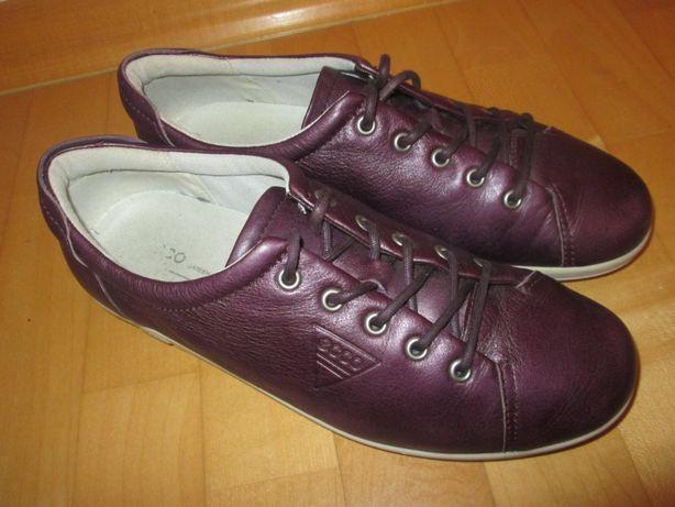 Buty damskie sneakersy skórzane _ECCO_rozmiar 39