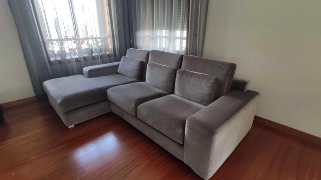 Sofá chaise longue Interdesign