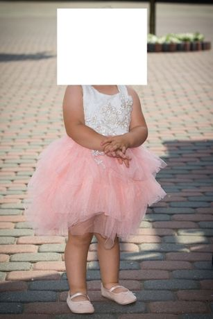 Sukienki mama i córka tiul koronka-wesele, ślub,roczek